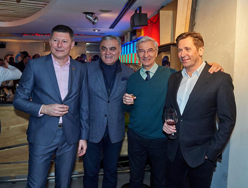 direktor ASS Slobodan Branković, prof. dr Dragan Životić, Stevan Kovačević i predsednik ASS Veselin Jevrosimović
