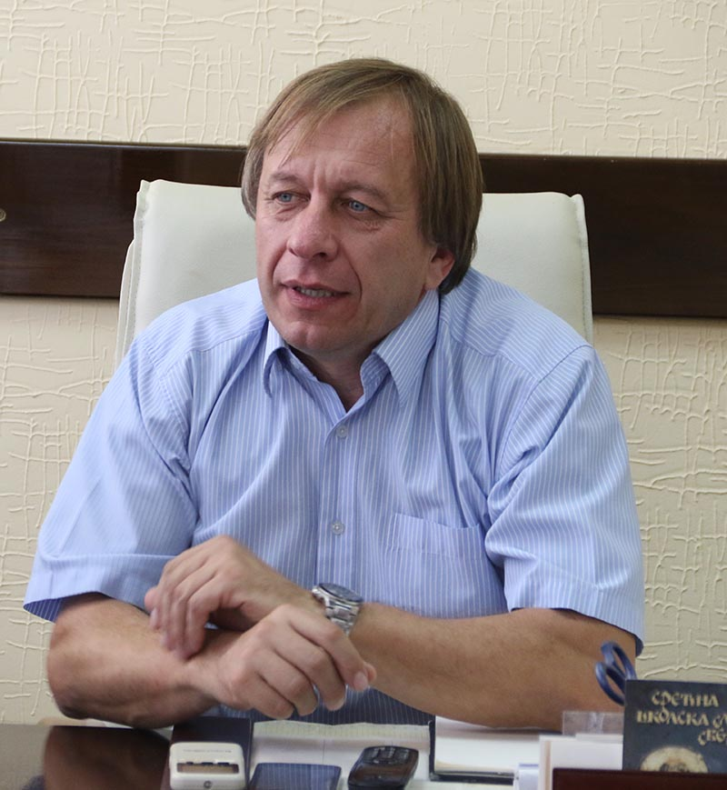 Zoran Radosavljević, direktor Poljoprivredno-veterinarske škole sa domom učenika Svilajnac